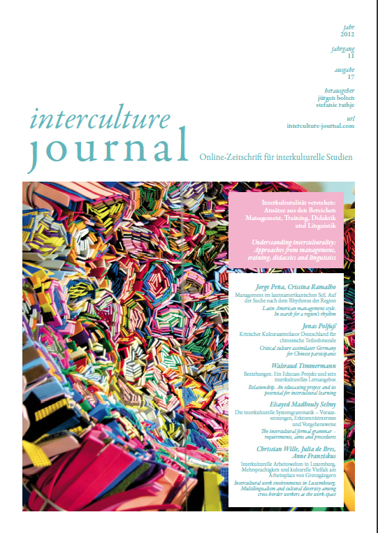 interculture journal 2012 / 17